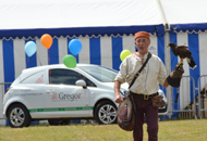 pic of south glos show falconry