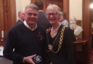 Gregor receives awards from Bristol Lord Mayor