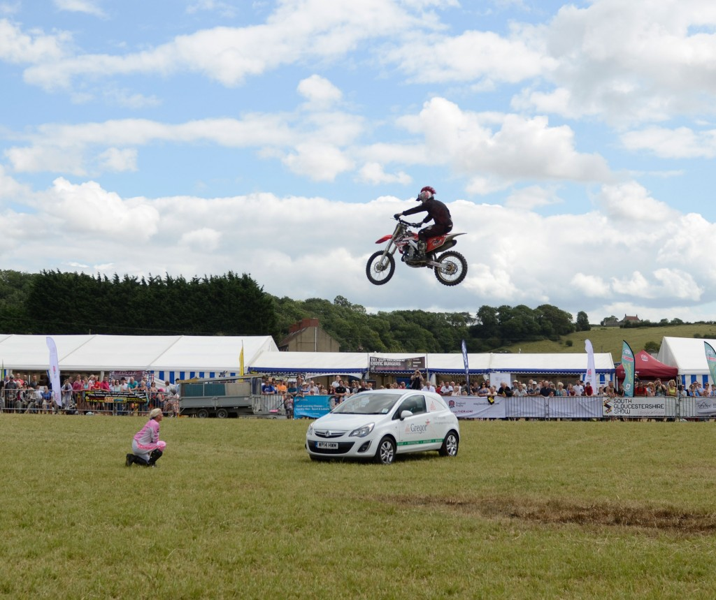 Gregor At The South Glos Show