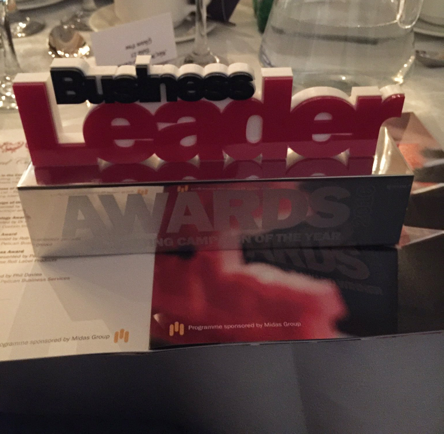 Business Leader Award