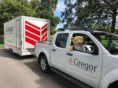 gregor teddy bear