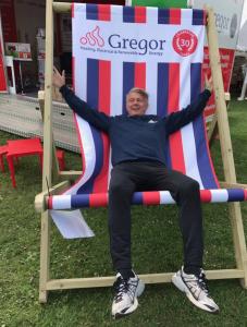 gregor deckchair