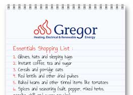 Gregor Giving - Essentials for Christmas