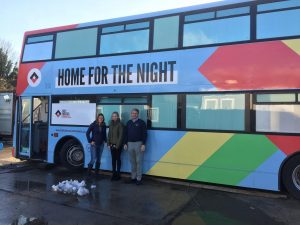 Gregor Heating works with Help Bristol's Homeless - Bus