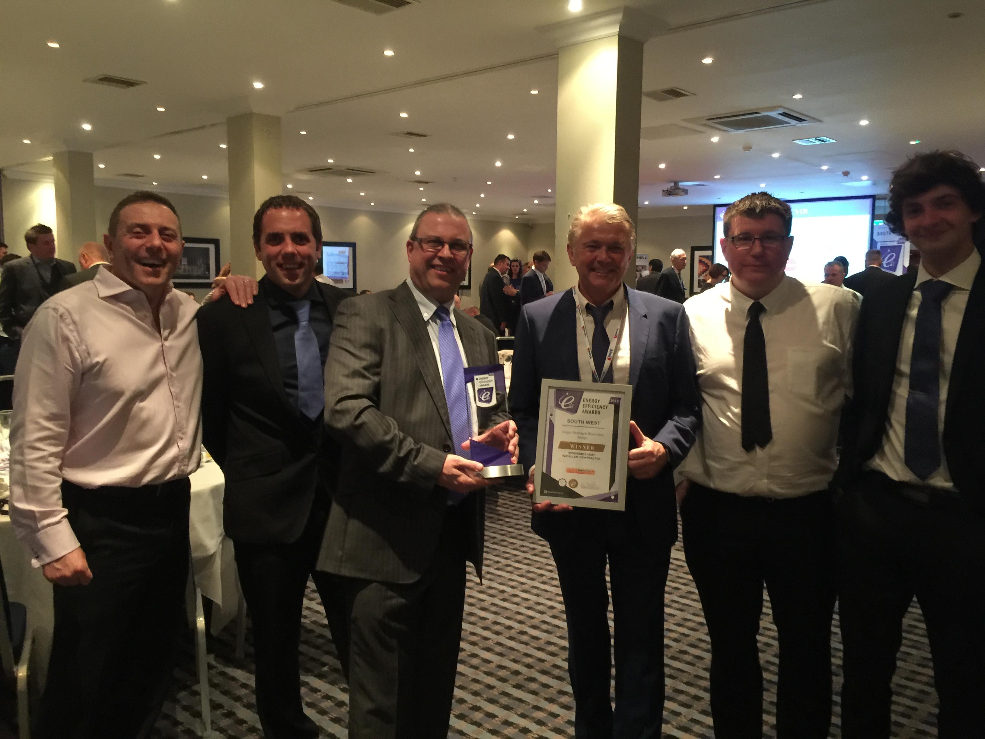 Gregor team at awards