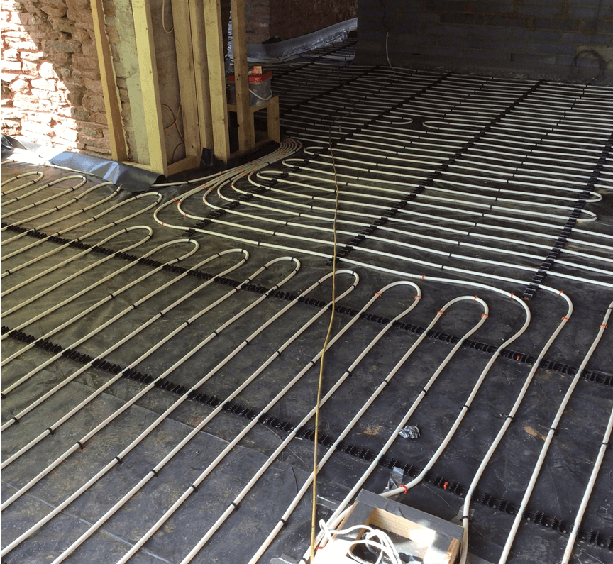 New Build Screed System