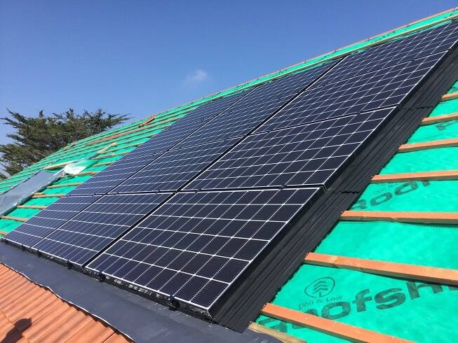 In-Roof Solar Photovoltaic Panels
