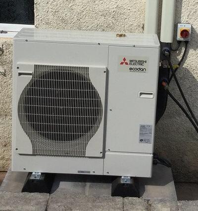 Mitsubishin Ecodan Air-Source Heat Pump