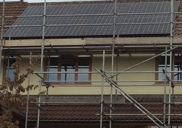 On-Roof Solar Photovoltaic Panels